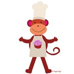 cupcakes monkey gifts