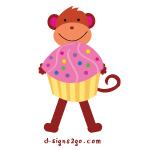 Cupcake Monkey Gifts