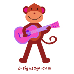 Music Monkey T-Shirts