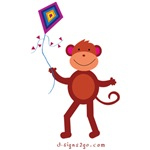 Kite monkey gifts