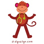 medical professional Monkey gifts