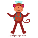Nurse Monkey gifts