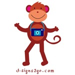 photographer Monkey gifts