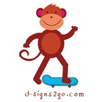 Skateboard Monkey t-shirts