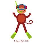 Snorkel Monkey gifts