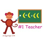 teacher Monkey gifts